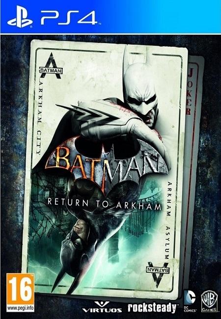 Batman Return To Arkham PS4 (Preowned)