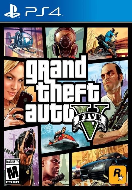 GTA 5 Grand Theft Auto V PS4 (Preowned)