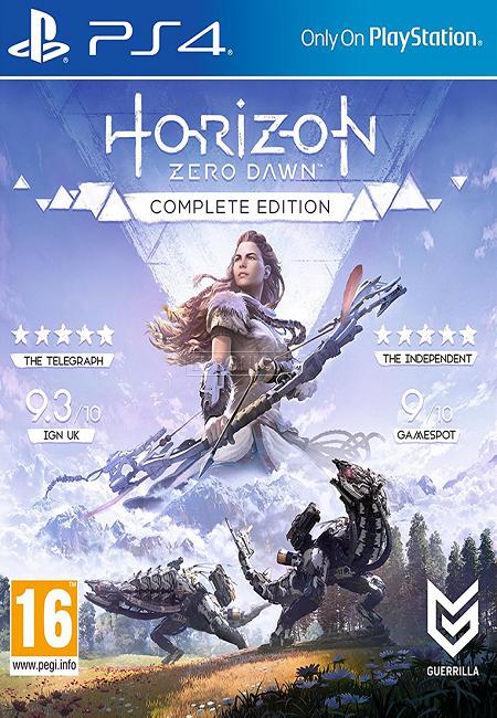 Horizon Zero Dawn Complete Edition PS4 (Preowned)