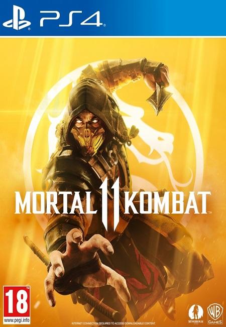 Mortal Kombat 11 PS4 (Preowned)