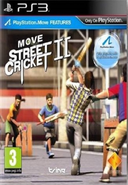 MOVE STREET CRICKET 2 PS3 (Preowned)