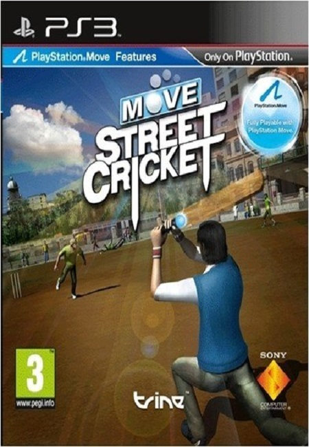 MOVE STREET CRICKET PS3 (Preowned)