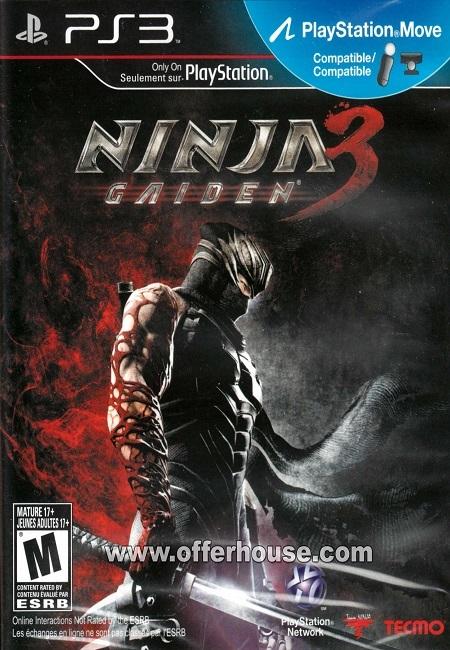 Ninja Gaiden 3 Razor's Edge PS3 (Preowned)