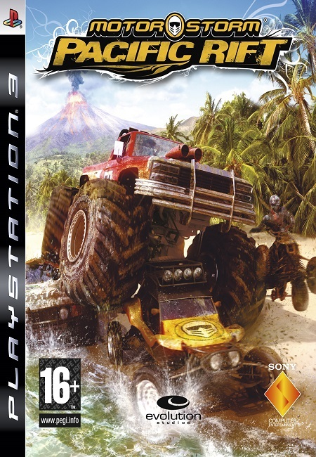 Motorstorm Pacific Rift PS3 (Preowned)