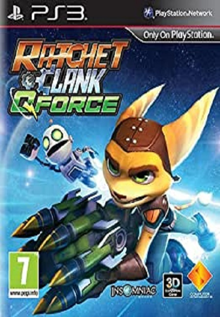 Ratchet and Q Force PS3 (Preowned)