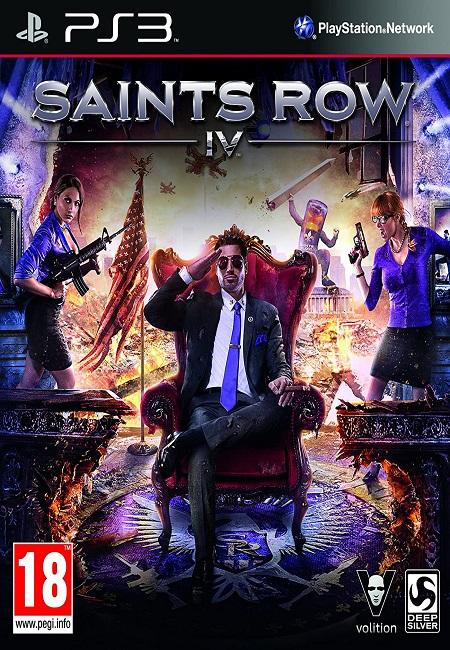Saints Row IV PS3 (Preowned)