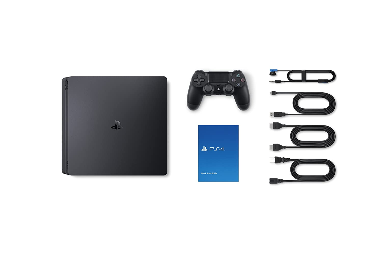 PS4 1TB Slim Bundled with SpiderMan, GTSport, Ratchet & Clank And PS Plus 3Months