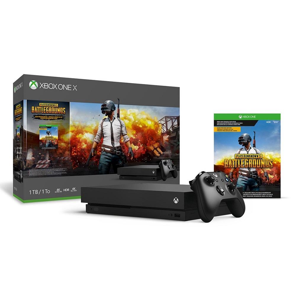 Xbox One X 1TB Console 1 year warranty - PLAYERUNKNOWN'S BATTLEGROUNDS Bundle [Digital Code]