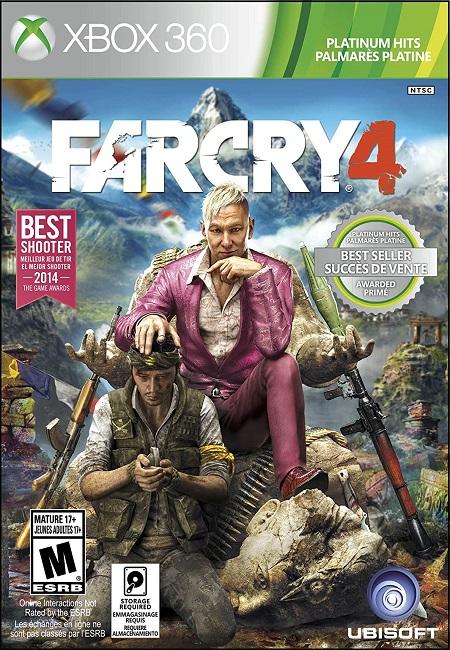 Far Cry 4 Xbox 360 (Preowned) (NTSC)