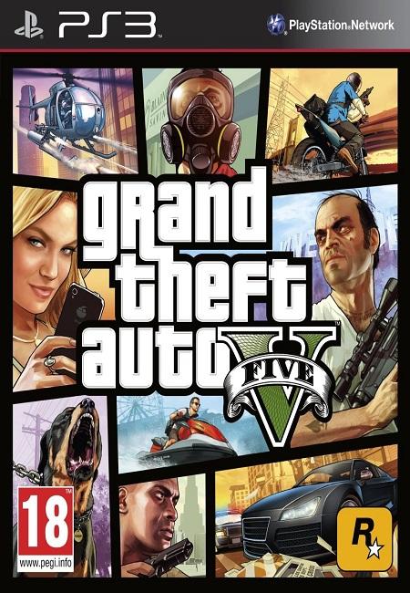 GTA 5 Grand Theft Auto V PS3 (Preowned)