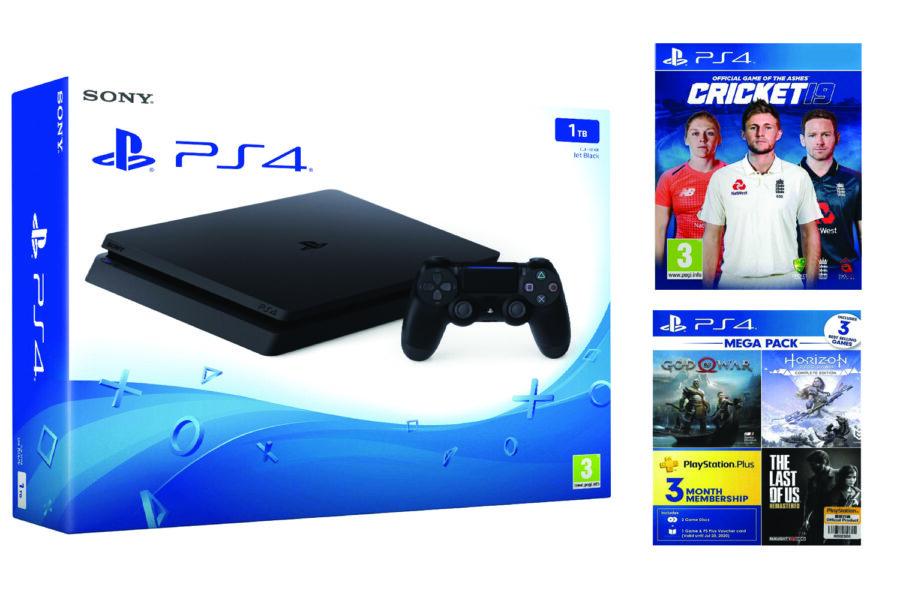 PS4 1TB Slim 3 games PS Plus 3 Months (Singapore Region)